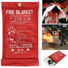 1 м * огонь Одеяло Печная заслонка из стекловолокна с огнезащитного