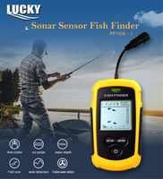 Glück FF1108-1 Tragbare Wireless Fisch Finder Sonar Alarm Fishfinder Echolot 0,7-100 M Sonar Sensor Wandler detektor