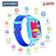 Greentiger S10 Smart Kids Watch GPS Tracker SOS Call back SIM Location Device Camera for Baby Safe Children Smart Watches(China)