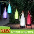 Solar outdoor beer bottle lamps LED popular in Europe and the United States Creative garden lamp Automatic charging work light