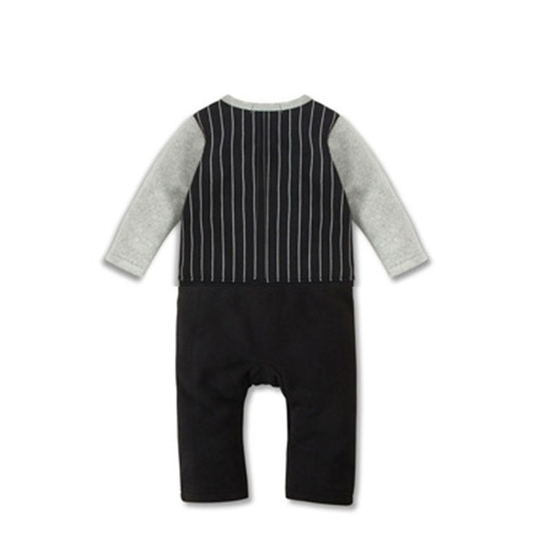 Baby Boy Formal*Party*Wedding*Tuxedo Waistcoat 1pc Pinstripe Outfit Free P+P