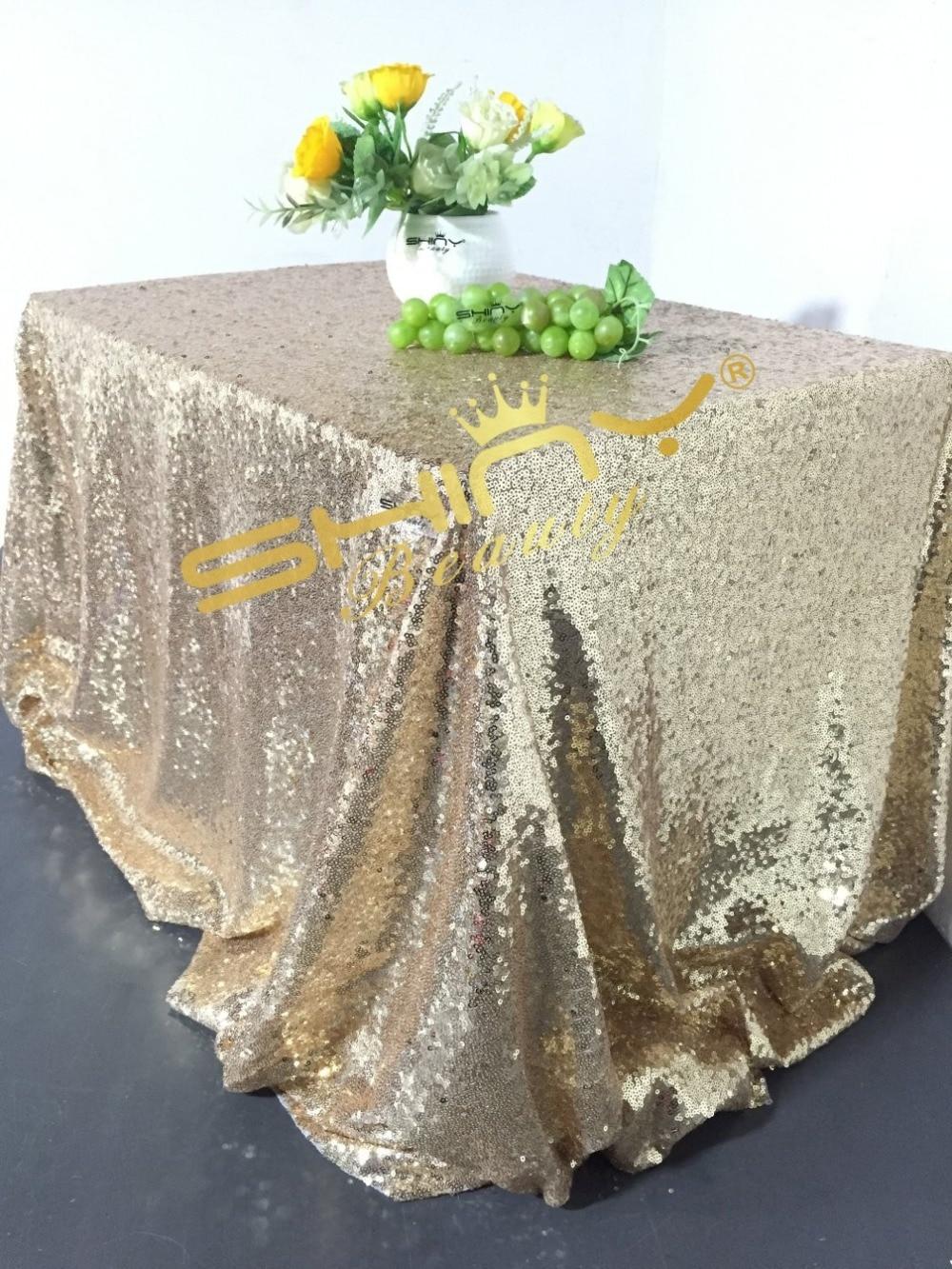 Merveilleux 90x156inch Light Gold Sequin Tablecloth Wedding Cake Tablecloth Light Gold  R In Tablecloths From Home U0026 Garden On Aliexpress.com | Alibaba Group