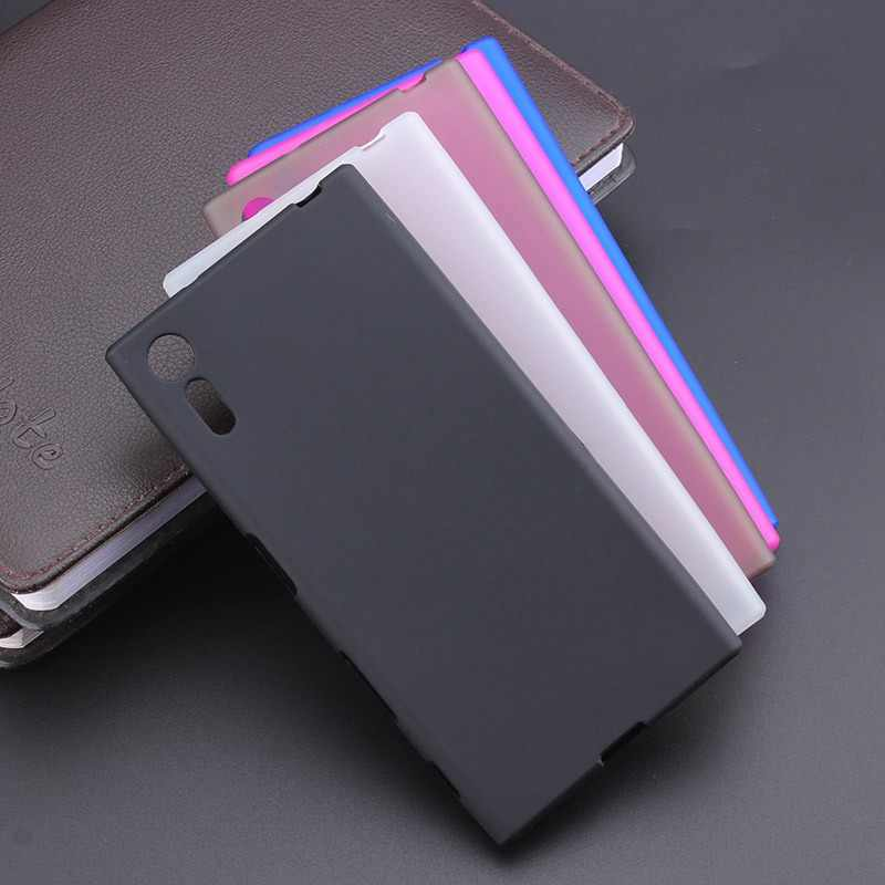 New Gel TPU Slim Soft Anti Skiding Case Back Cover For Sony Xperia XZ / XZ Dual F8332 F8331 Mobile Phone Rubber silicone Bag