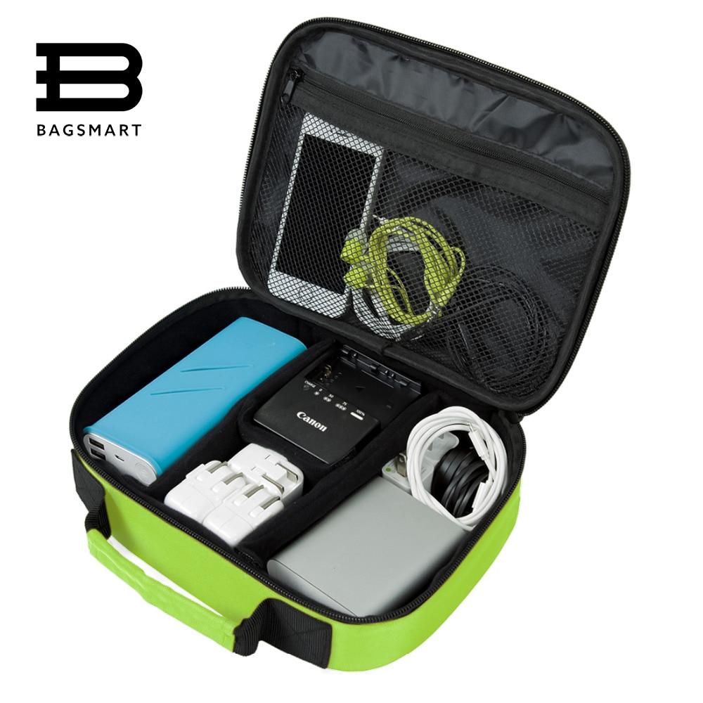 bolsamart organizadores acessórios eletrônicos bolsa Material Principal : Nylon