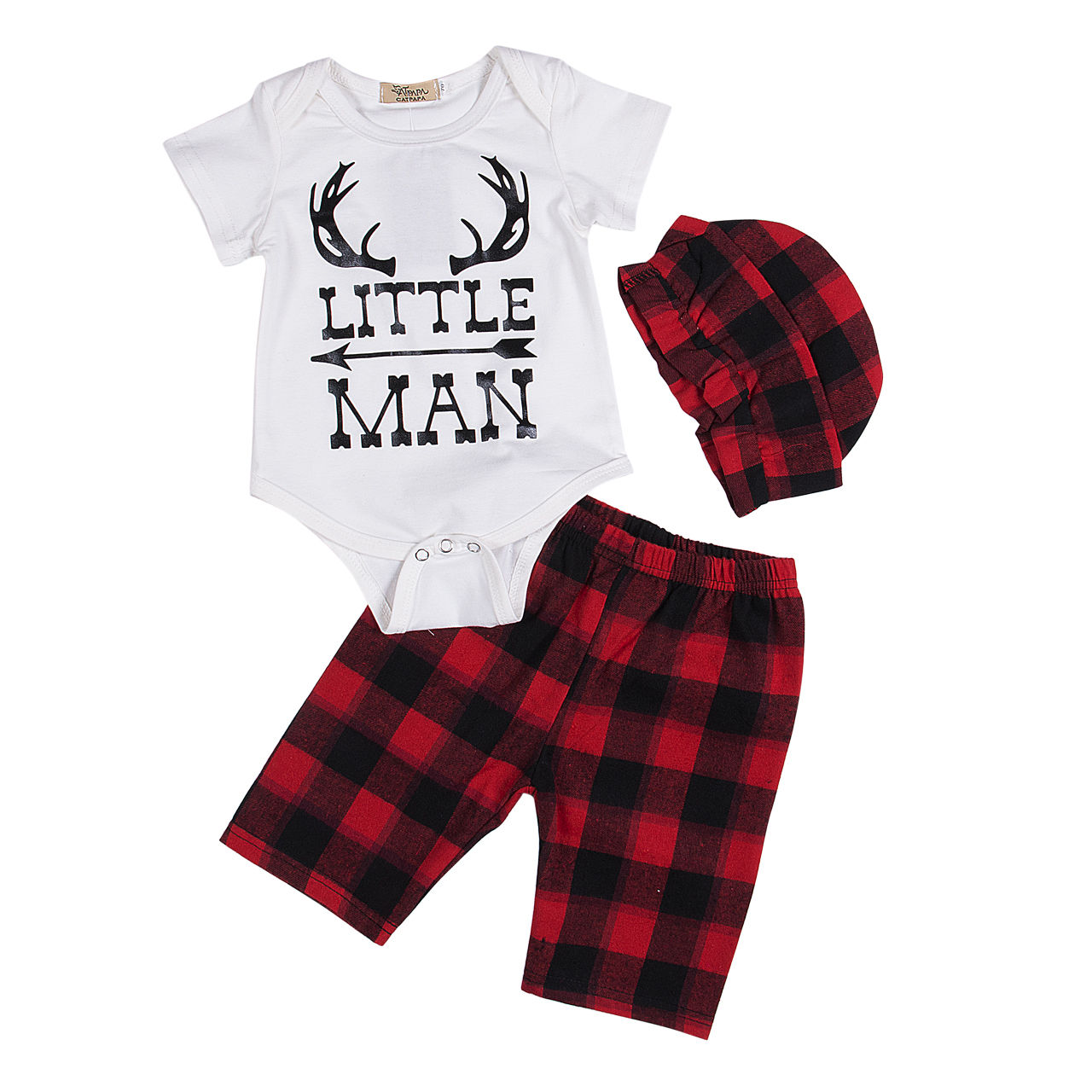Christmas Baby Clothing Newborn Baby Boy Deer Romper ...