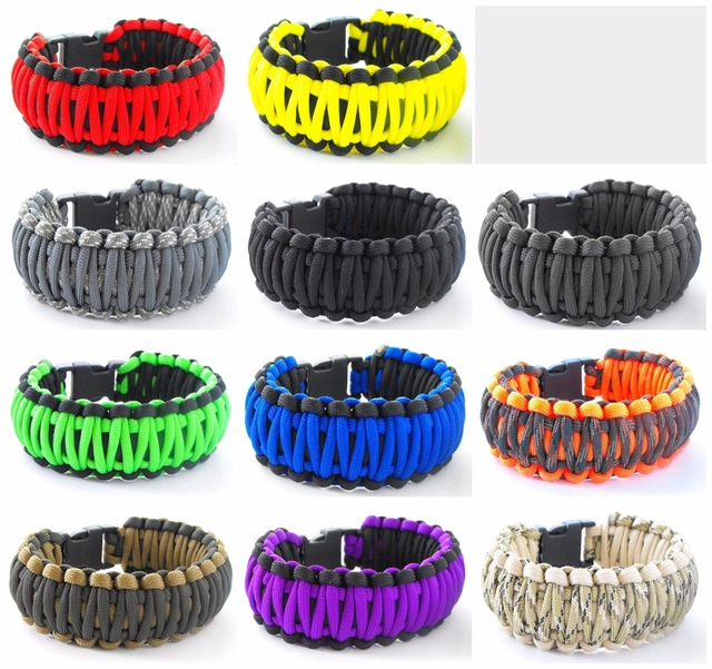 King Cobra Paracord Survival Armband Klimmen Camping Aratuur Ve004