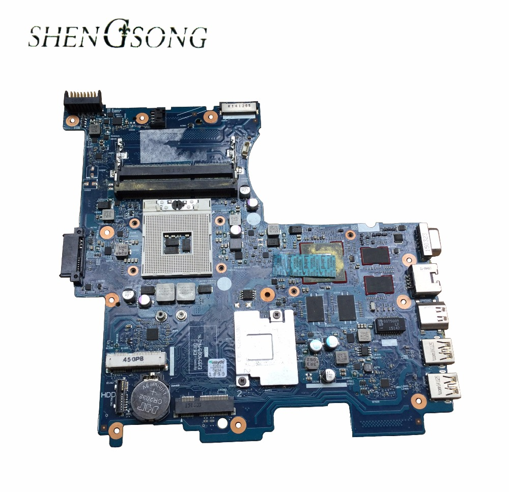 718445-501 For HP M4 motherboard 718445-001 model 6050A2545601 Notebook PC 100% tested working 734304 001 734304 501 laptop motherboard fit for hp zbook 15 series qm87 notebook pc 100% tested working