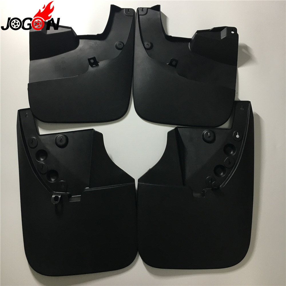 For Toyota Tundra 2014 2015 2016 2017 Car Front & Rear Mud Fender Flaps Splash Guards Mudflaps Mudguard 4PCS-in Mudguards from Automobiles & Motorcycles    1