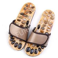 Flat Sandals Flip-Flops Slides Slippers Men Home-Shoes Health Foot-Massage Male Outdoor