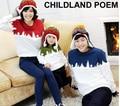 2016 семья одежда Футболка Рождество Семья соответствующие наряды хлопок Мать и дочь Одежда Семьи сопоставления Одежда