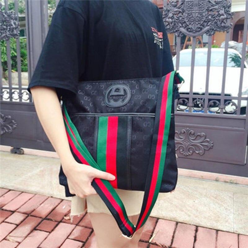 New women's portable fashion bag waterproof Oxford cloth bag lightweight ladies shoulder bag casual bag Messenger bag