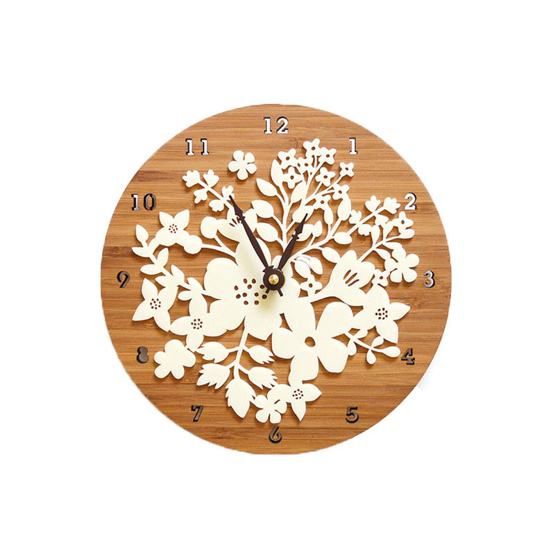 World Famous Attractions Feature Wall Clock Movement Mute Sweep Seconds Wood Clock City Silhouette Travel Souvenirs Wall Clocks