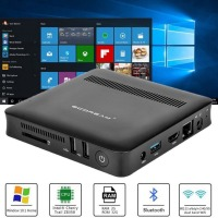 T7 Mini PC Desktop Intel Atom Z8350 Quad Core 2+32Gb Windows 10 64Bit Computer Quad Core Hdmi Dual Wifi Computer