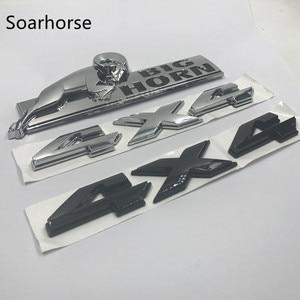 Soarhorse Car-styling For 08-15 Dodge Ram 1500 2500 3500 4X4 BIGHORN Big Horn Emblem Nameplate Sticker(China)