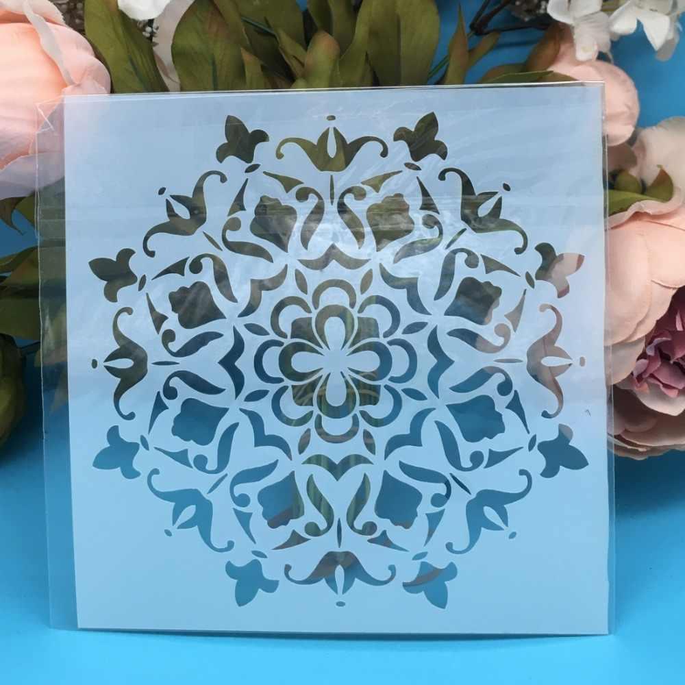 DIY Layering Stencils Painting Scrapbook Coloring Album Decorative Card Template