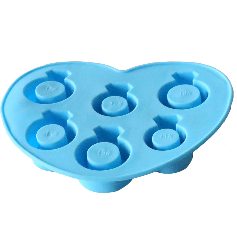 ULKNN Ice Cake Mould Originality Wedding Ring Shape Non Stick Easy Clean Eco Friendly Food Grade Silicone Ice Cake Mould in Cake Molds from Home Garden
