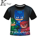Cartoon child t-shirt digital print boys t-shirt summer short-sleeve top fashion children's clothing kids tshirt shirts 4-12 Y