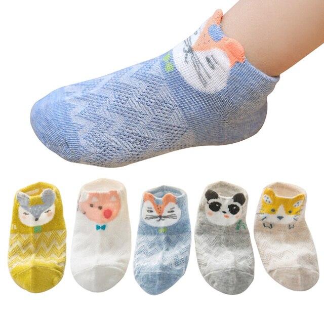4263daef740f 5 пар/партия детские носки для мальчиков и девочек сезон: весна–лето для  малышей ...