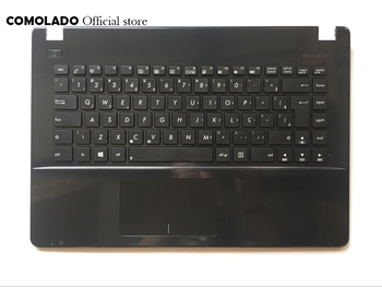 BR Brazil keyboard for ASUS X451 X451E X451M X451C X451E1007CA topcase laptop keyboard Palmrest Cove BR Layout new for samsung np 900x3b 900x3c 900x3d 900x3e laptop keyboard backlit br brazil no frame big enter