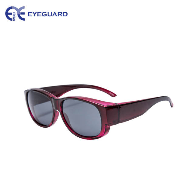 8679f0333813 Online Shop EYEGUARD Lady Fashion Fit Over Sunglasses Oval Rectangular  Polarized Glasses Women