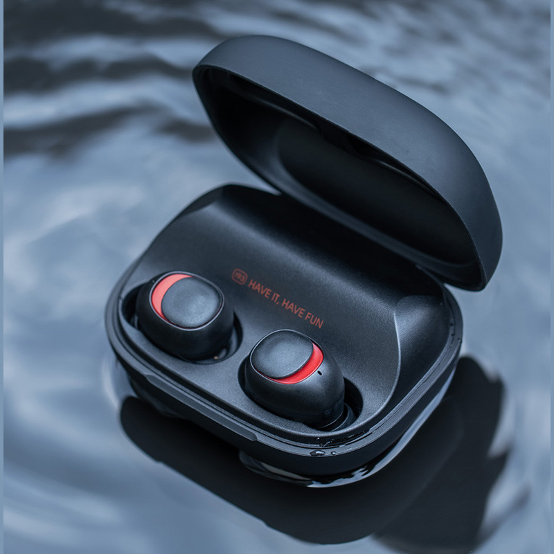 HAVIT TWS Mini Wireless Earbuds In-ear Bluetooth Earphone V5.0 Sport IPX5 Waterproof with 2200mAh Box Rechargeable Headset I93 askmeer bluetooth earphone ipx5 waterproof metal magnetic wireless sport earbuds headset in ear earpiece with mic handfree calls