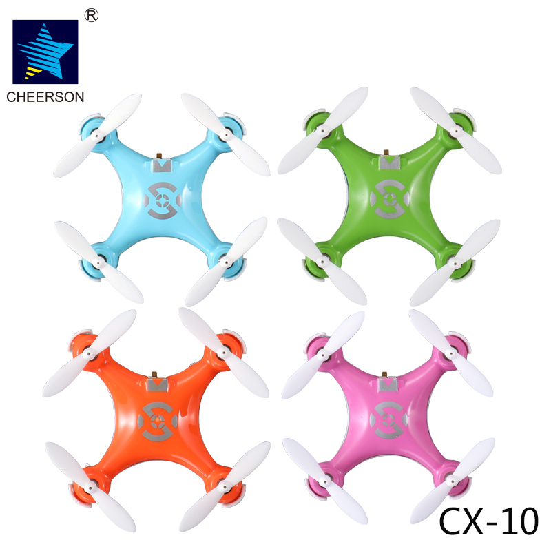 Cheerson RC Drone CX10 CX 10 Mini Drones 2 4GHz 4CH 6 axis Gyro Micro RC