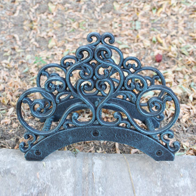 Wrought Iron New Garden Hose Rack Holder Scrowl Outdoor Decorative Hose Reel Hanger Cast Iron Antique & Wrought Iron New Garden Hose Rack Holder Scrowl Outdoor Decorative ...