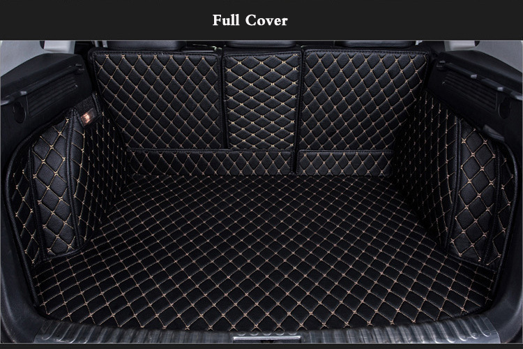 OHANEE Special trunk mats case for Mercedes Benz E260L GLS GLA GLE GL450 ML Gl450 waterproof liner boot carpets custom fit car trunk mats for mercedes benz ml w163 w164 w166 gl glc gle 2008 2017 boot liner rear trunk cargo tray floor mats