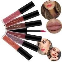 12 Colors Wholesale Beauty Makeup Lipstick Popular Colors Best Seller Long Lasting Lip Kit Matte Lip