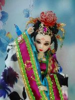 Free Shipping 12 Chinese Qing Dynasty Princess Dolls With Joints Movable Pretty Girl Dolls Christmas Gifts
