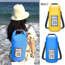 20L Swimming Bags Waterproof Dry Bag Rafting Backpack Travel Kits Backpack Sack Storage Backpack Kayaking Canoeing Swimming Bags