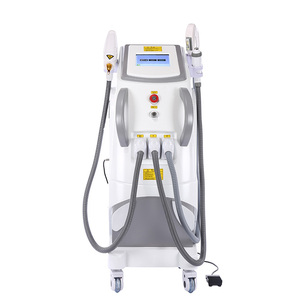 Image 1 - 2020 4 in 1 CE genehmigt Hohe Qualität Professional hair entfernung IPL SHR maschine/IPL SHR OPT maschine/laser + RF + pico haar entfernung