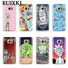 sports shoes 3d472 14276 Popular Rick and Morty Galaxy S6 Case-Buy Cheap Rick and Morty ...
