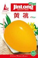 1 original pack 600pcs yellow peach tomato seeds, fruit tomato vegetable,test good seeds free shipping
