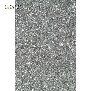 Image 2 - Laeacco אור Bokeh נצנצים פולקה נקודות תינוק מקלחת צילום רקע יילוד תפאורות חתונה שיחת וידאו עבור תמונה סטודיו