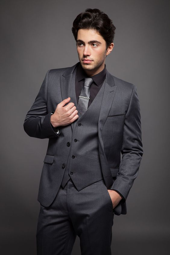 Compare Prices on 3 Piece Grey Wool Suit- Online Shopping/Buy Low ...