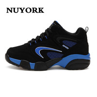 Free Shipping Autumn Suede Dichotomanthes End Female Fitness Shoes Leisure Shoes Slip Female Shoes
