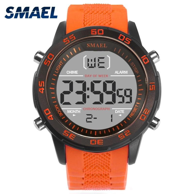 Synoke Männer Sport Uhr Led Digital Uhren 50 M Wasserdichte Armbanduhr G Stil Casual Schock Männlichen Uhr Relogios Masculino Mann Ausgezeichnete QualitäT In