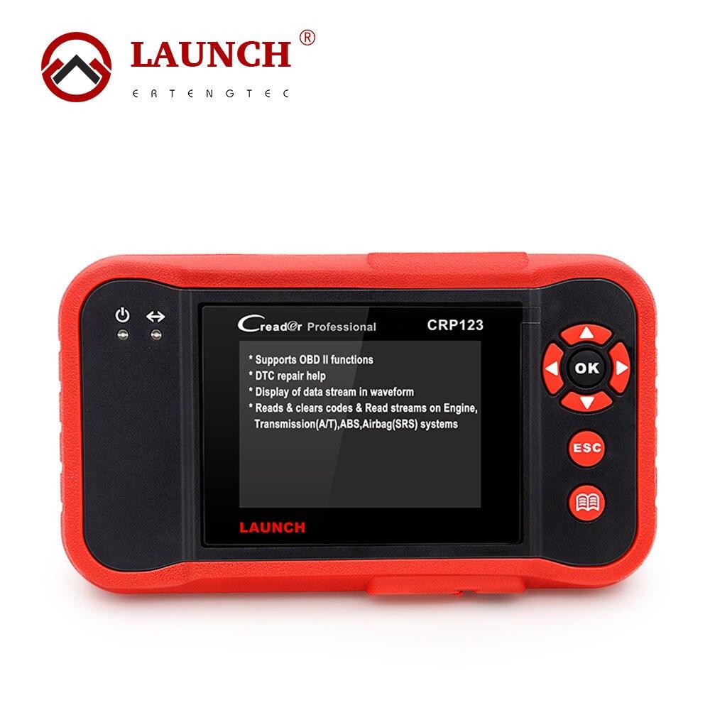 Prix pour 100% D'origine Professionnelle Launch Creader CRP123 de Code Automatique Lecteur Launch CRP123 CRP 123 OBD2 EOBD Scanner