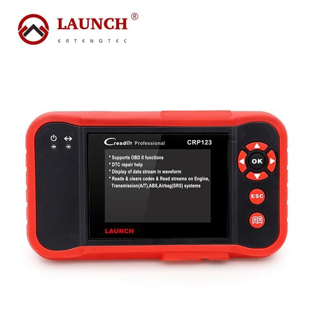 100% Original Professional Launch Creader CRP123 Auto Code Reader Launch CRP123 CRP 123 OBD2 EOBD Scanner