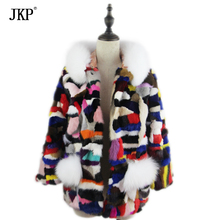 2017 Winter Children natural Mink fur Coat Kids Real Mink Fur Coat Grils Warm Thick High-quality Baby Fur jacket