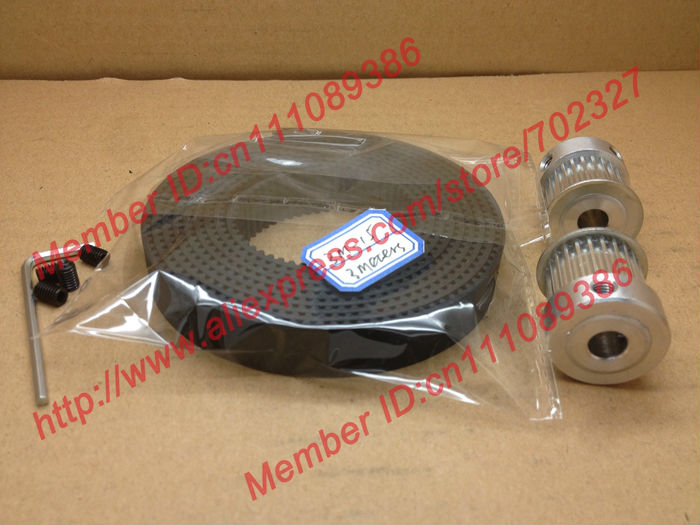 3Meters 3M timing belt Neoprene width 15mm + 2pcs24 teeth HTD 3M Timing Pulley Bore 6.35mm fit for CNC machines engraving laser 10meters htd 3m open ended timing belt width 15mm 10pcs 24 teeth bore 12mm 3m timing pulley for laser engraving cnc machines