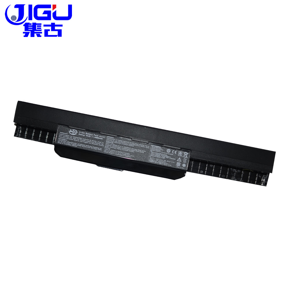 JIGU K53u Laptop Battery For Asus A32 K53 A42-K53 A31-K53 A41-K53 A43 A53 K43 K53 K53S X43 X44 X53 X54 X84 X53SV X53U X53B X54H jigu laptop battery for dell 8858x 8p3yx 911md vostro 3460 3560 latitude e6120 e6420 e6520 4400mah