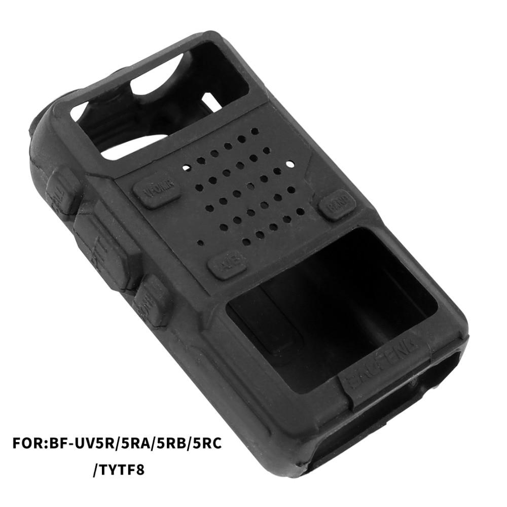 BAOFENG UV-5R Silicone Rubber Cover Bumper Case For Two Way Radio UV 5R UV-5RE DM-5R Walkie Talkie Uv5r Accessories