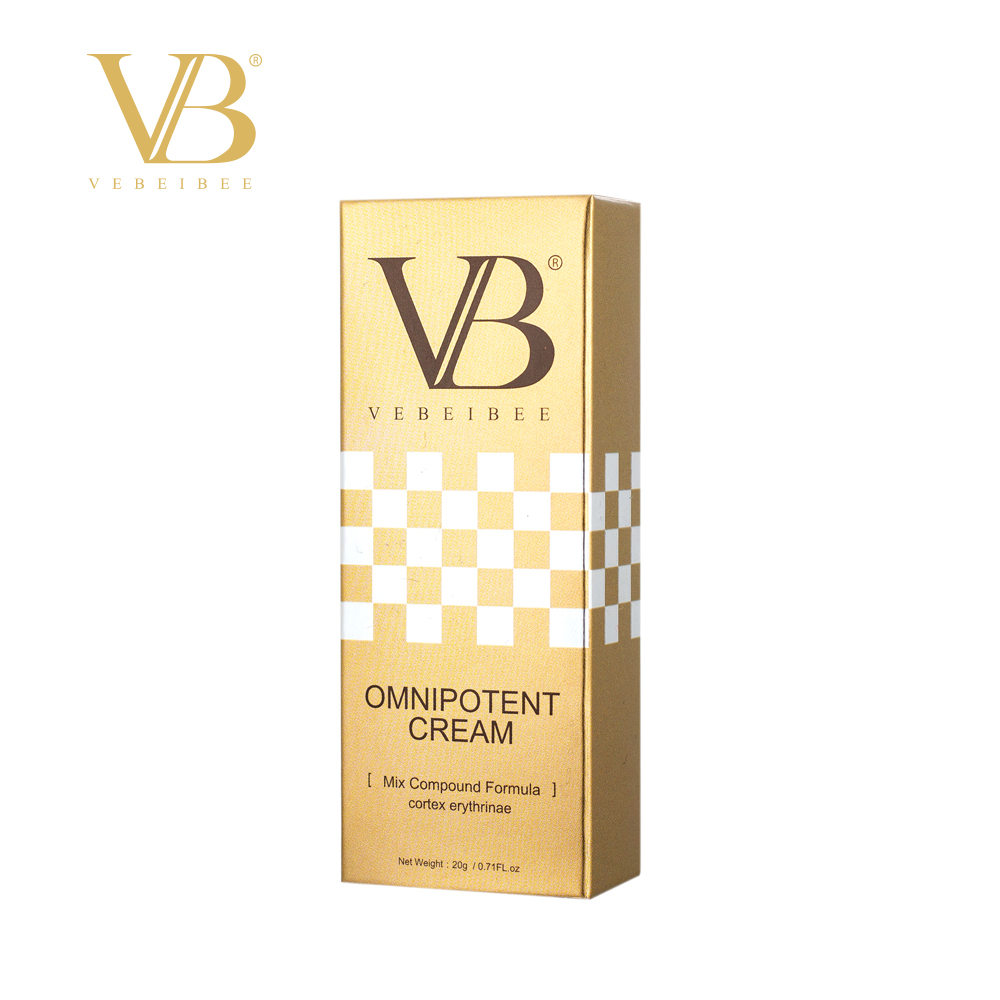 VEBEIBEE Ominpotent Cream Mix Compound Formula Acne Treatment Anti aging Moisturizing Oil control Whitening in Facial Self Tanners Bronzers from Beauty Health