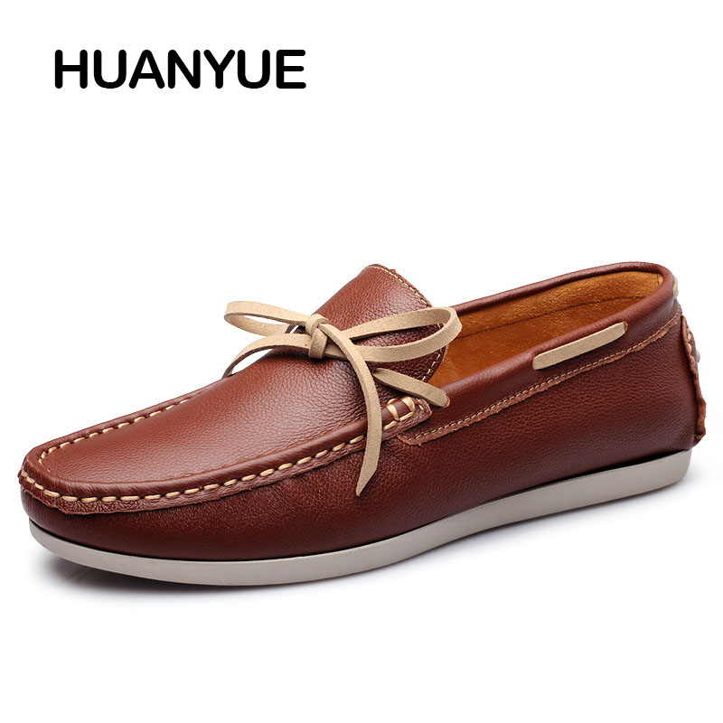 Summer Men Casual Shoes Fashion Men Shoes Leather Soft Moccasins Men Loafers Slip On Men's Flat High Quality Driving Male Shoes new arrival split leather fashion mens casual shoestop quality driving moccasins slip on loafers men flat shoes