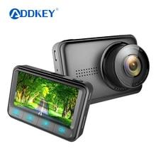 Автомобильный видеорегистратор ADDKEY Novatek 96658, мини-Регистратор FHD1080P dvr, 170 градусов, 30fps, автомобильный детектор, 2,45 дюймов, видеорегистратор sony IMX322