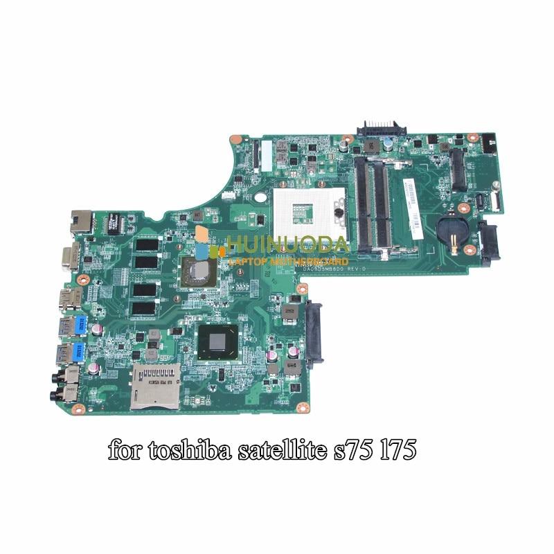 DA0BD5MB8D0 A000243200 Main Board For Toshiba Satellite S75 L75 font b Laptop b font Motherboard 17