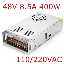 Best quality 48V 8.3A 400W Switching Power Supply Driver for CCTV camera LED Strip AC 100-240V Input to DC 48V(China)