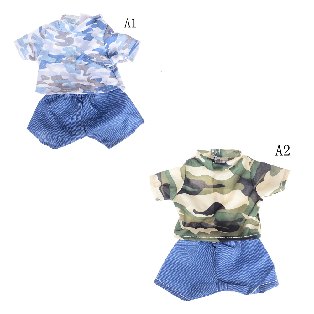 Handmade Suit For 18 Inch 43cm Baby Boy Doll Clothes Set ...